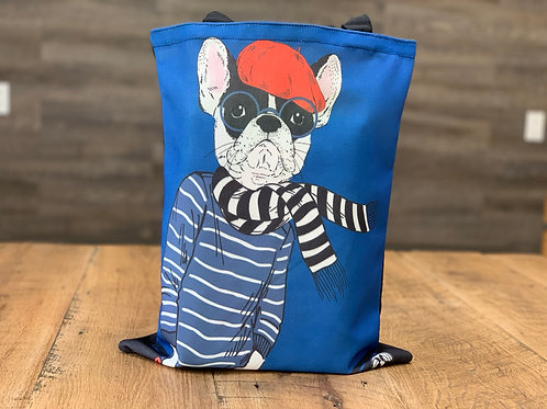 Dapper Dog Tote Bag - 14 Breeds