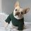Thumbnail: Forest Green and Maroon Fleece Sweatshirt
