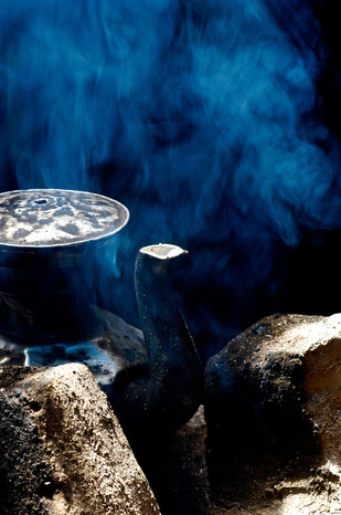 Tibetan Tea in Nomad's Tent - Horchuka, Ganze