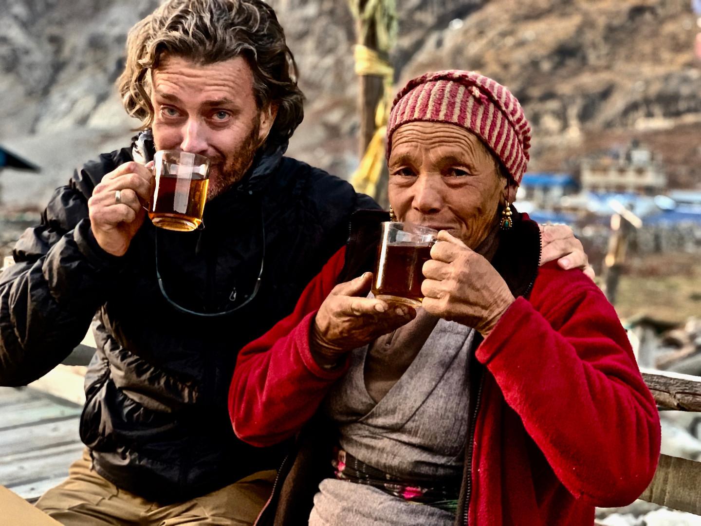 With Maya - Langtang, Nepal, 2019