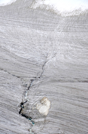 The Wedge - Glacier Detail - Spiti