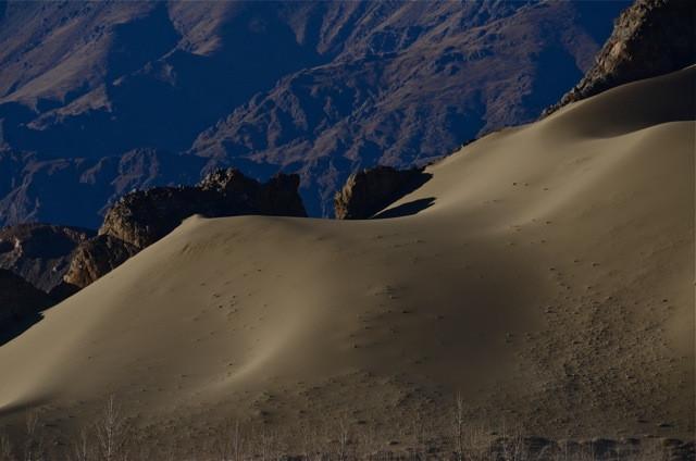 Tibet - Sand Dunes