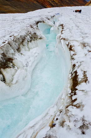 Flow - Glacier, Ladakh