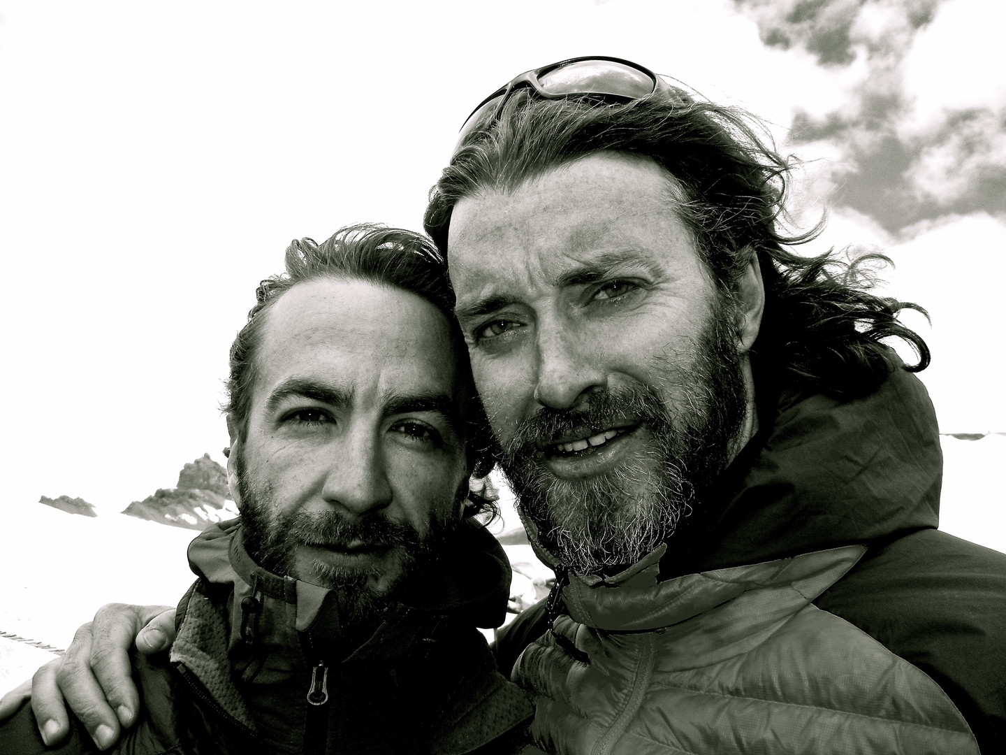 Michael and I - The Pass - Spiti, India