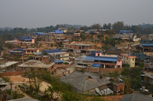 Banzhang's change: a glut of new and huge homes amidst the famed red earth