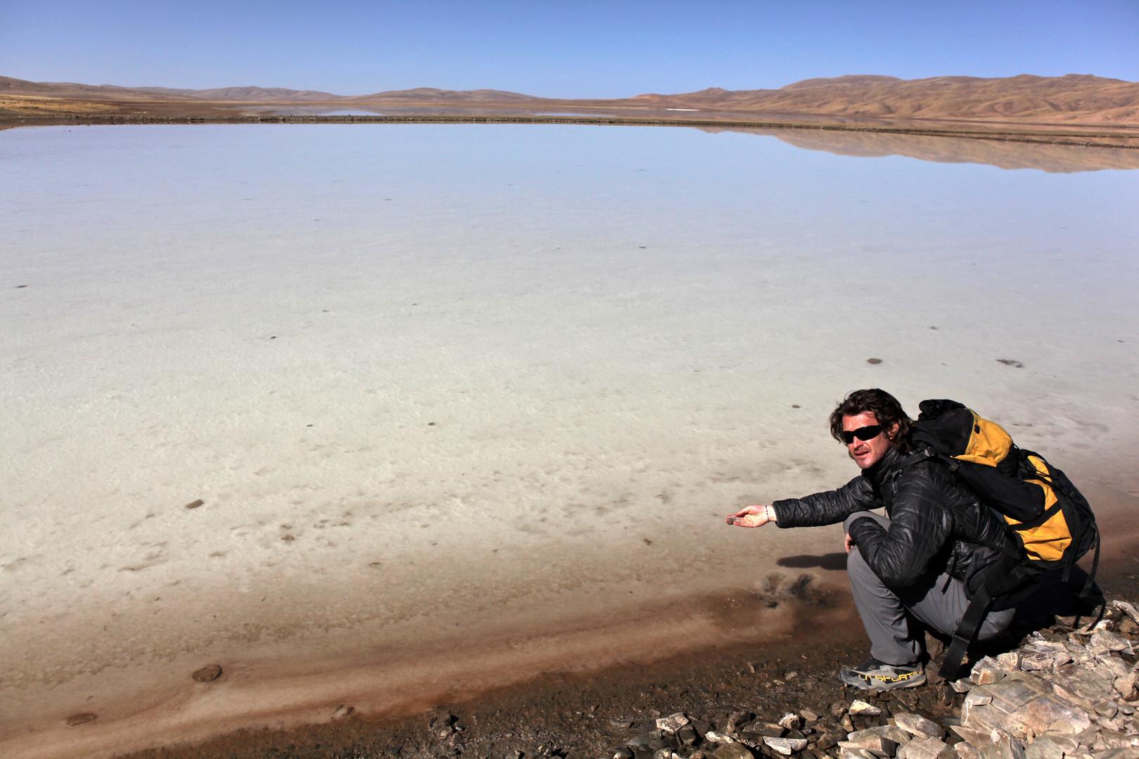 Jeff Tastes Salt - Qinghai