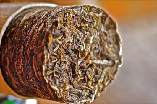 Bamboo Puerh Tea Cylinder - Yunnan