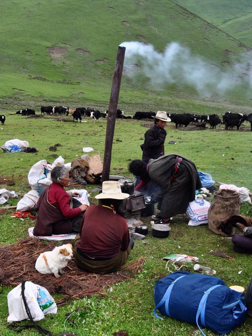 Tea Break Skies - Horchuka, Sichua