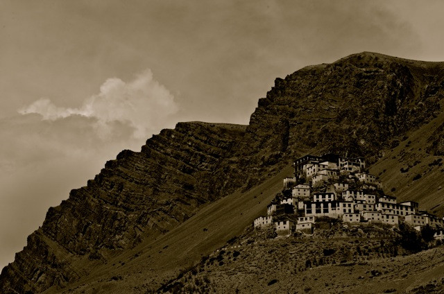 The Kyi Monastery in the Spiti Valley