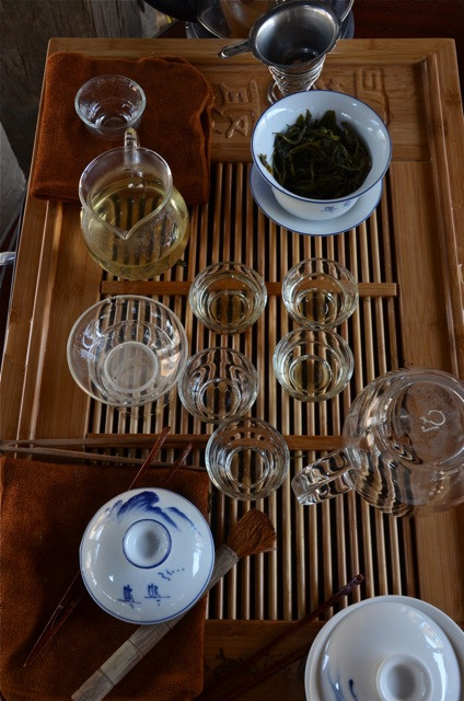 New to Marco, and worshipped by myself: the tea table