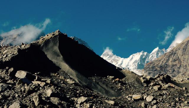 Moraine - Glacier