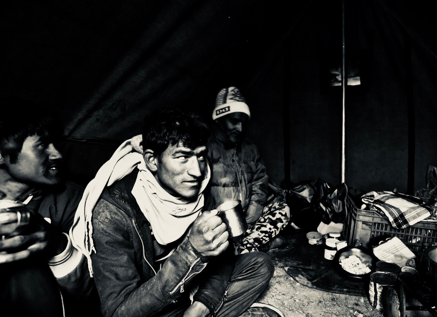 Tea Time, Nandanvan Camp
