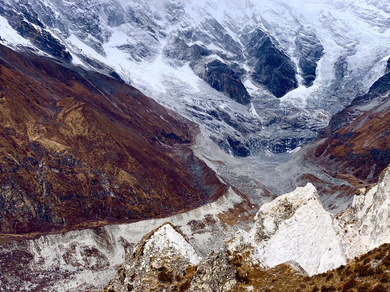 Lirung Glacier - Langtang, Nepal
