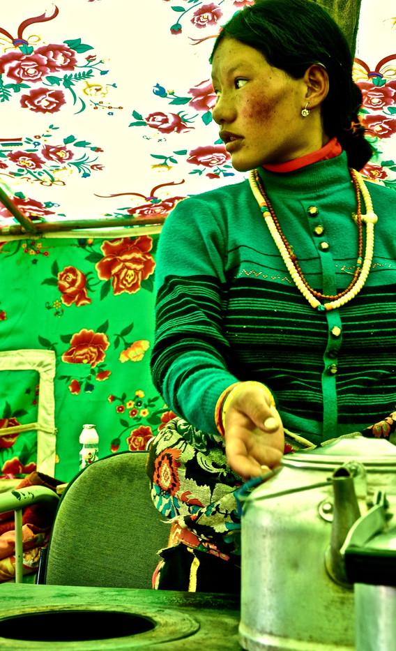The Tea Within The Tent - Tsa Tso, Qinghai/Amdo