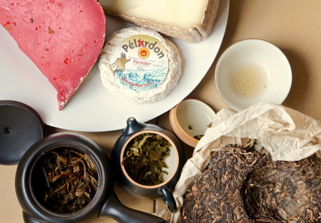 Puerh and cheese collaborate