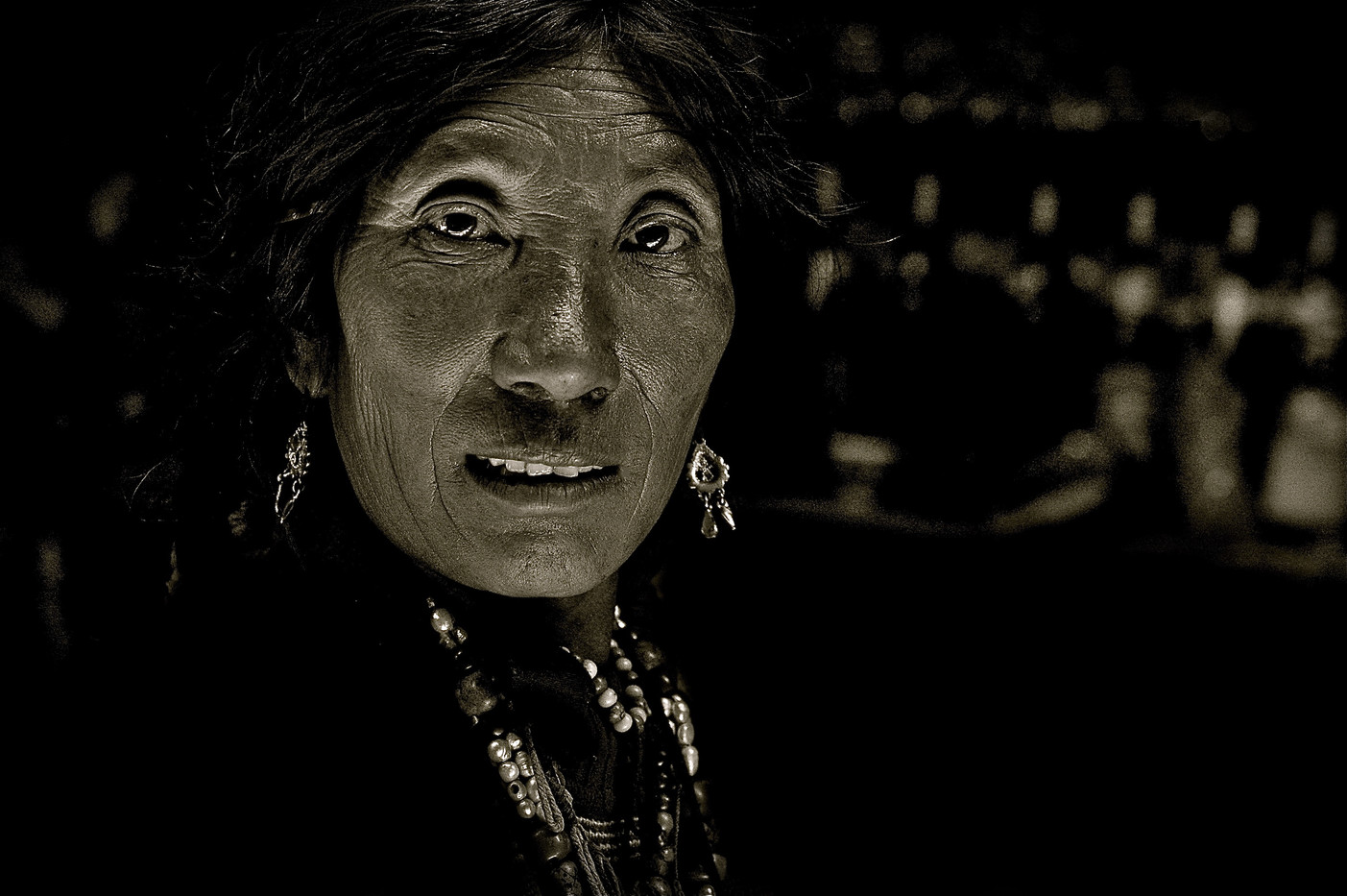 Nemo (Hostess) - Nup Gong La, Along the Tea Horse Road, Tibet
