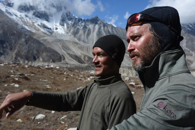Gangotri Glacier with Puran - Garwhal, Uttarakhand, India - 2016