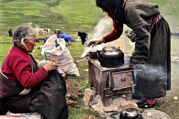 Last Sip Before We Move - Horchuka, Sichuan
