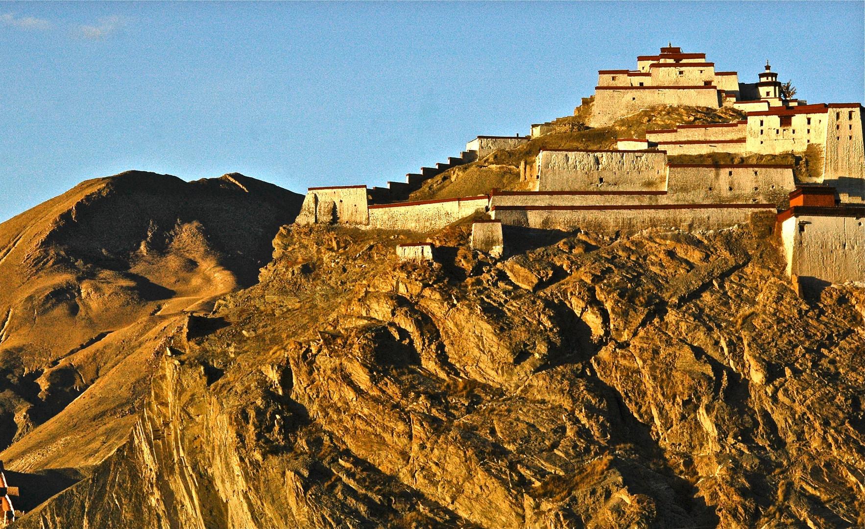 Monastery along Tea Horse Road - Tibet