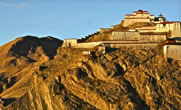 Monastery along Tea Horse Road - Tibet