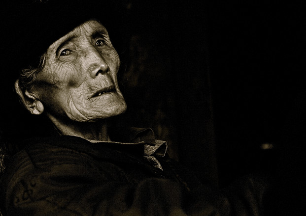 The Wait - Lahu Elder, Yunnan
