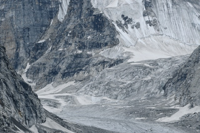 A valley of ice and stone offers up one of the mountain's gifts for the senses