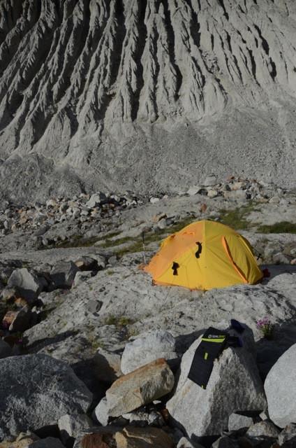 Basecamp 1 in Bara Shigiri at 4600 metres