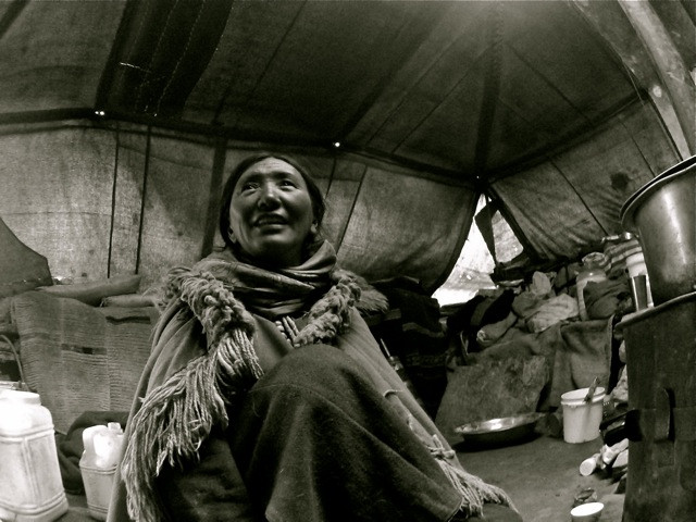 A nomad's tent is the domain of the matriarchs and they alone. Woman's role in the communities cannot be overstated.