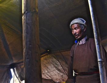 Headman Chat - Karnak, India