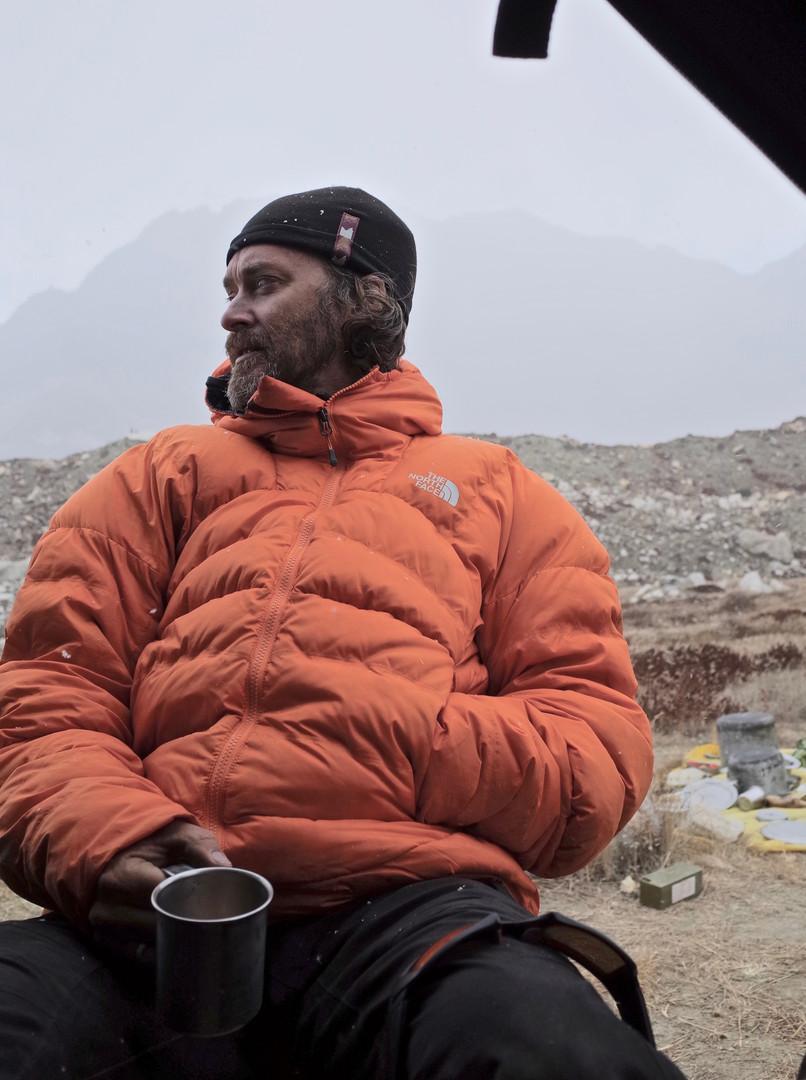 Taking Tea in Camp