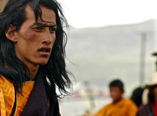 Khampa Horseman - Litang, Sichuan