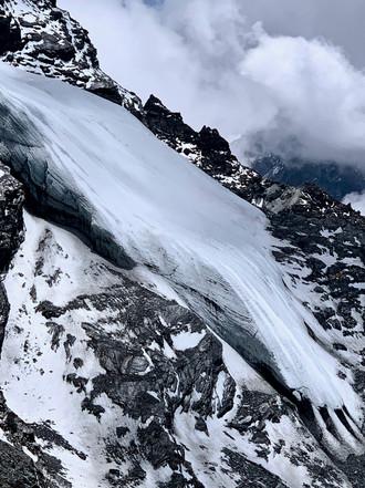 The Ice Marks - Kongma La, Solukhumbu, Nepal