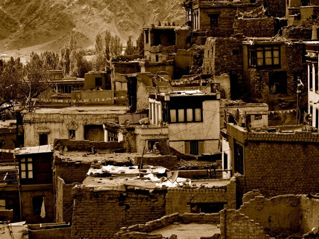 Leh's old district, where trade flourished