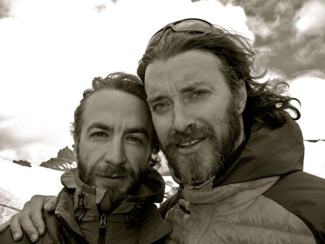 Michael and I atop Parang Pass