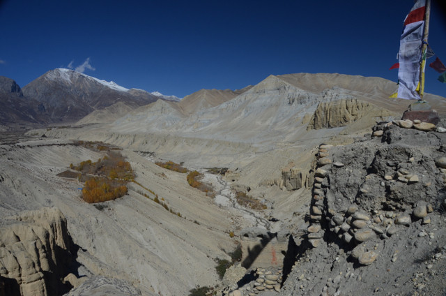 It was through valleys like the epic Gali Kandaki valley that tea, salt and wool caravans travelled