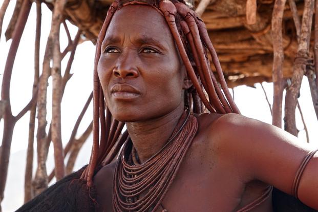 Himba Matriarch - Namibia