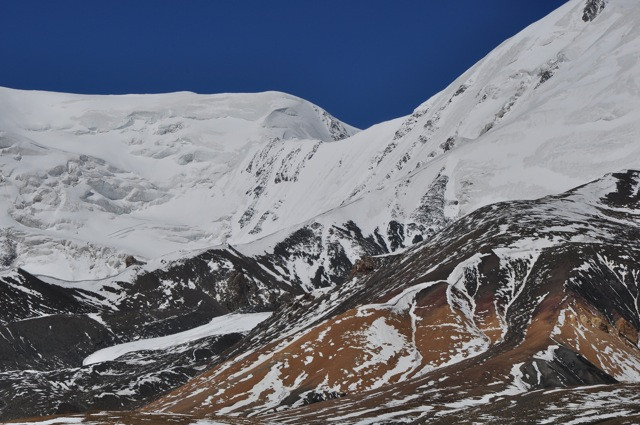 Few sights are more inspiring that the great shelves of stone and ice that form the spine of the Himalayas