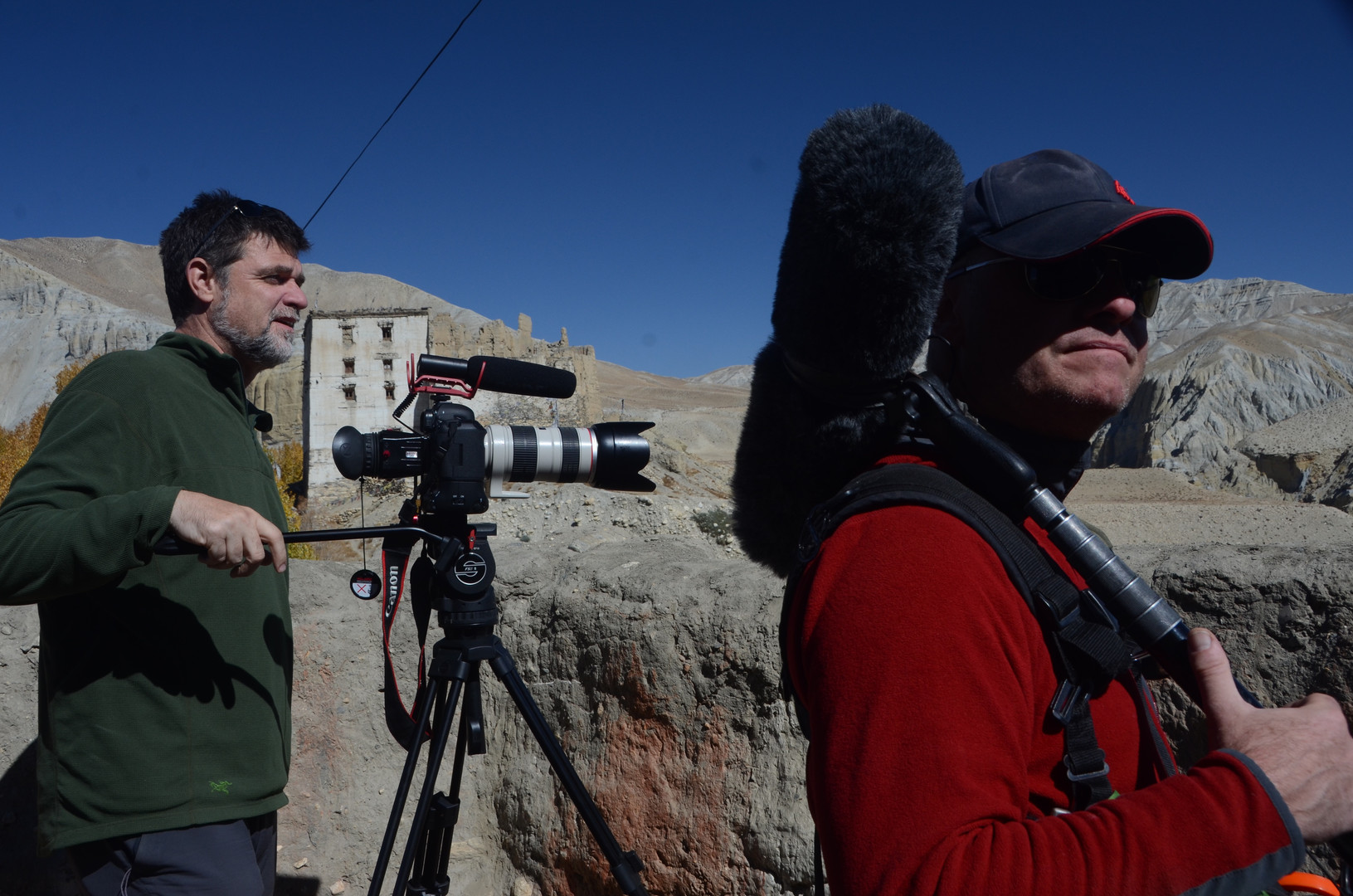 Andrew and Michael - Mustang, Nepal