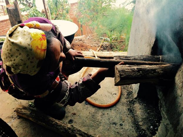 The Heat - Pan Frying Prep - Lao Banzhang, Yunnan