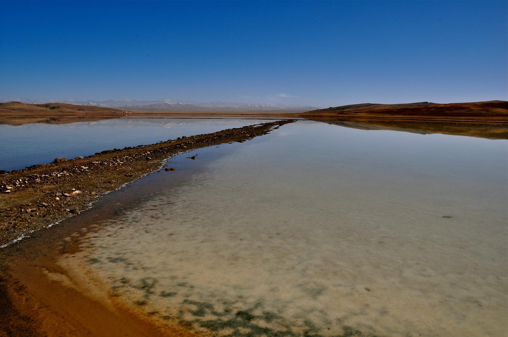 Salt Flats - Qinghai