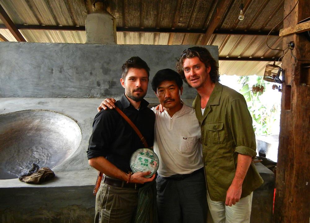Portrait of Jeff Fuchs and Marco Zamboni Zalamena in Lao Banzhang