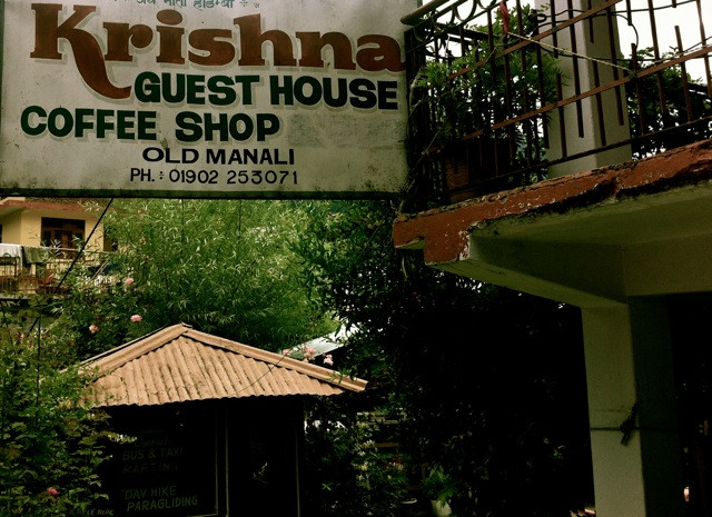 Happily, a guest house I stayed at over ten years ago in Manali's Old Town remains intact with its original owners