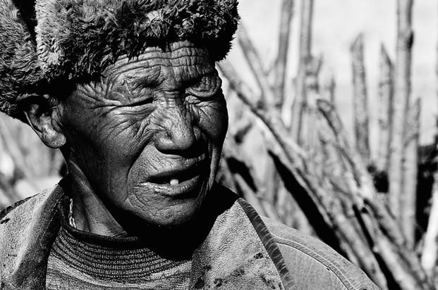 Elder - Gyalthang (Shangrila), Yunnan