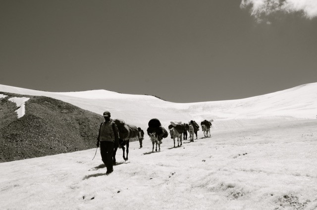 Journeys to and onto glaciers and mountains are the first and last steps.