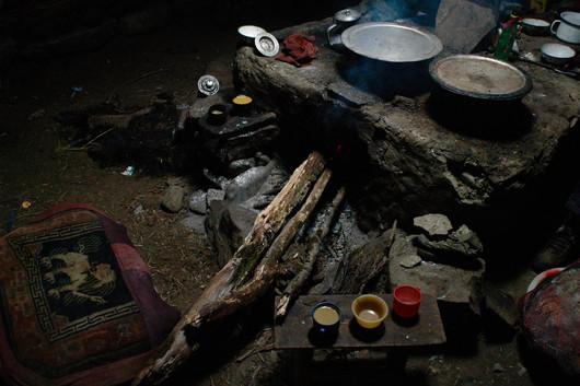 Fire Pit Warm - Tenda, Tibet