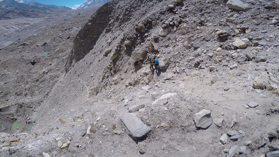 Descent with 40kg's - Gangotri