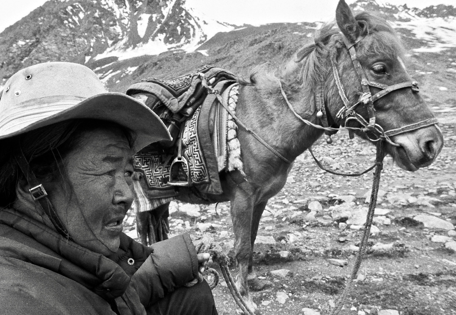 Worry - Nup Gong La Pass, Tibet