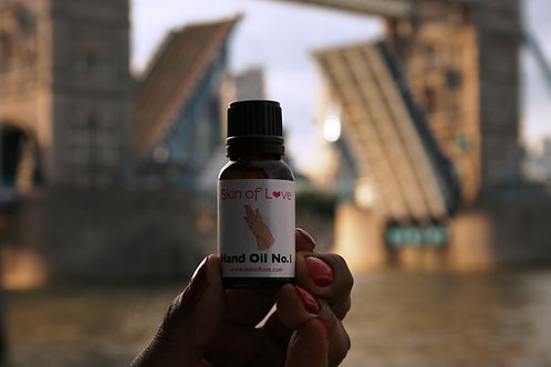 Skin of Love Hand Oil No. 1 Tower Bridge London