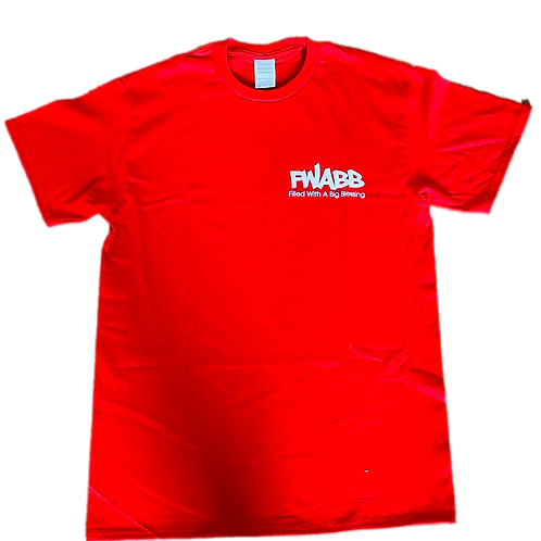 RED& WHITE FWABB TEE