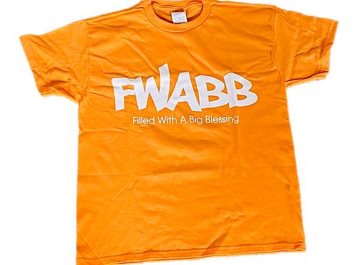 Pastel Orange FWABB TEE